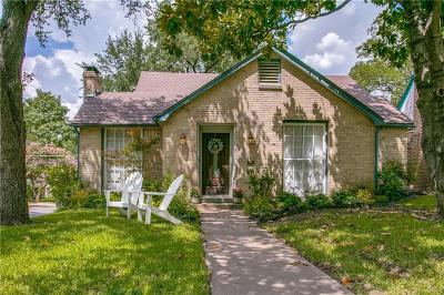 Dallas Single Family Home For Sale: 702 Newell Avenue