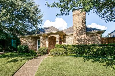 Dallas Single Family Home For Sale: 12548 Renoir