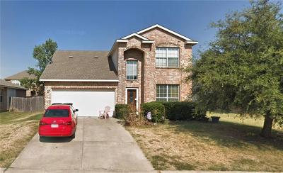 Little Elm Single Family Home Active Option Contract: 3420 Roxie Drive