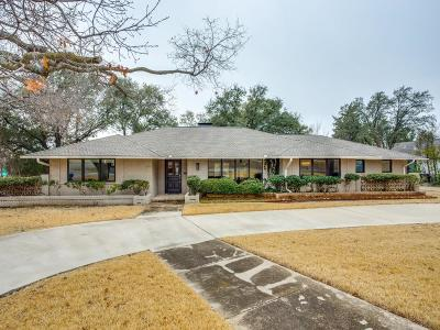 Dallas Single Family Home For Sale: 6828 Willow Lane