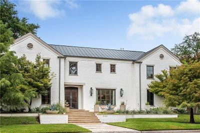 Dallas County Single Family Home For Sale: 6101 Armstrong Parkway