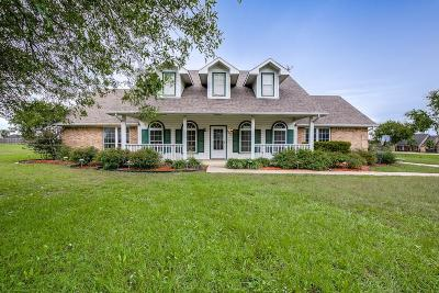 Royse City Single Family Home Active Option Contract: 9563 County Road 2470