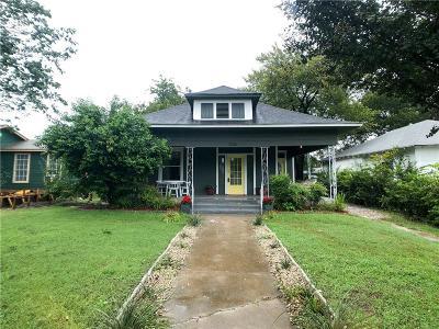 Fort Worth Single Family Home For Sale: 1236 W Devitt Street