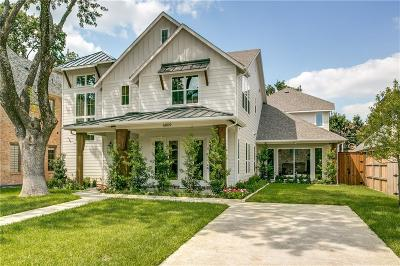 Dallas  Residential Lease For Lease: 6809 Woodland Drive