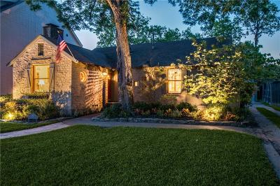 Dallas Single Family Home For Sale: 5517 W Hanover Avenue