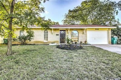 Lewisville Single Family Home Active Option Contract: 944 Elmwood Drive