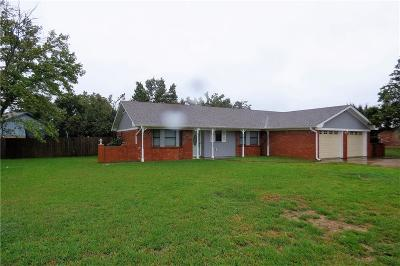 Stephenville Single Family Home Active Option Contract: 2700 W Frey Street