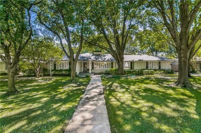 Dallas Single Family Home For Sale: 6814 Stefani Drive