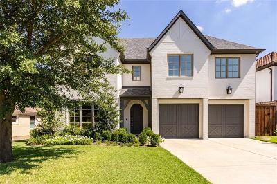 Dallas TX Single Family Home For Sale: $1,235,000