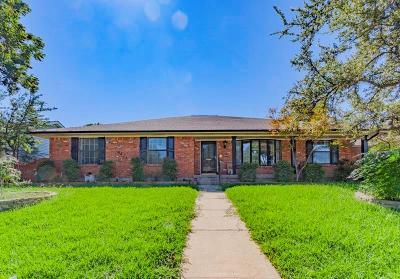 Dallas Single Family Home For Sale: 9421 Meadowknoll Drive