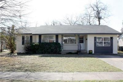 Garland Single Family Home Active Option Contract: 1522 Randolph Drive