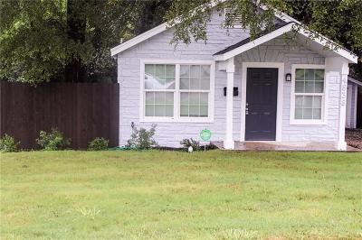Dallas TX Single Family Home For Sale: $120,000