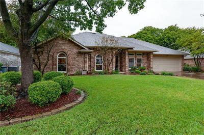 North Richland Hills Single Family Home Active Option Contract: 7933 Kendra Lane