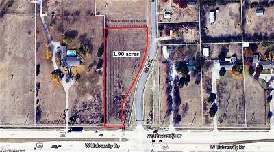 Denton Residential Lots & Land For Sale: Cindy Lane