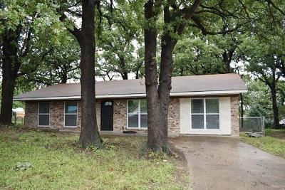 Azle Residential Lease For Lease: 845 Hill Place