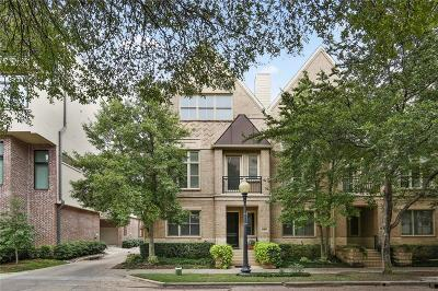 Dallas Townhouse For Sale: 2308 Worthington Street