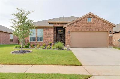 Fort Worth Single Family Home Active Option Contract: 13873 Langston Lake Drive
