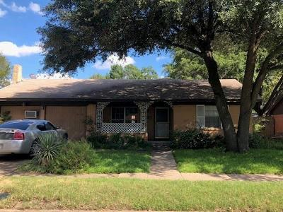Dallas Single Family Home For Sale: 8730 Hackney Lane