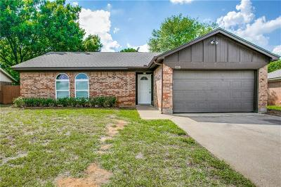 Arlington Residential Lease For Lease: 6218 Maple Springs Drive