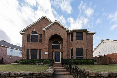 Garland Single Family Home For Sale: 1707 Hollow Creek Court
