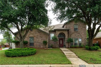 Fort Worth Single Family Home For Sale: 7420 Marsarie Court