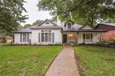Grapevine Single Family Home Active Option Contract: 3537 Hightimber Drive