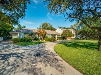Dallas Single Family Home Active Option Contract: 4815 Myerwood Lane