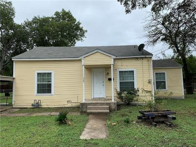 Waxahachie Single Family Home For Sale: 309 Lynn Street