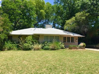 Dallas Single Family Home For Sale: 2322 Loving Avenue
