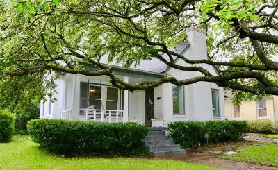 Dallas Single Family Home For Sale: 511 Newell Avenue