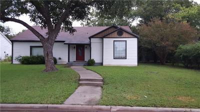Sherman Single Family Home For Sale: 1009 N Lockhart Street