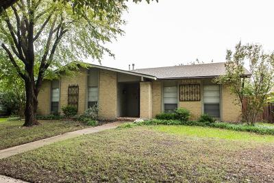 Carrollton Single Family Home For Sale: 1835 Chamberlain Drive