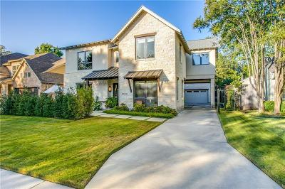 Allen, Dallas, Frisco, Plano, Prosper, Addison, Coppell, Highland Park, University Park, Southlake, Colleyville, Grapevine Single Family Home For Sale: 8309 Chadbourne Road