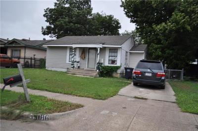 Fort Worth Single Family Home For Sale: 5186 Erath Street