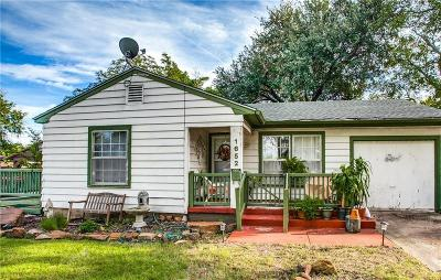 Garland Single Family Home For Sale: 1652 Murray Drive