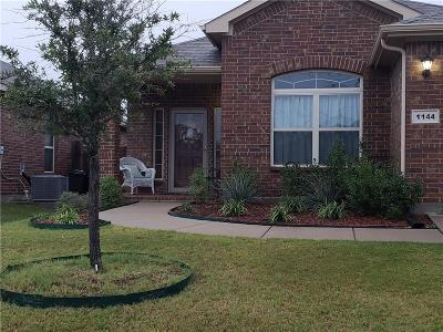 Fort Worth Single Family Home For Sale: 1144 Sierra Blanca Drive