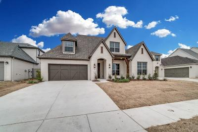 Aledo Single Family Home For Sale: 709 Lookout Court