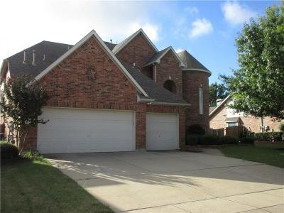 Mansfield Single Family Home Active Contingent: 4302 Wildbriar Lane