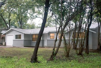 Hurst Single Family Home Active Option Contract: 408 Holder Drive