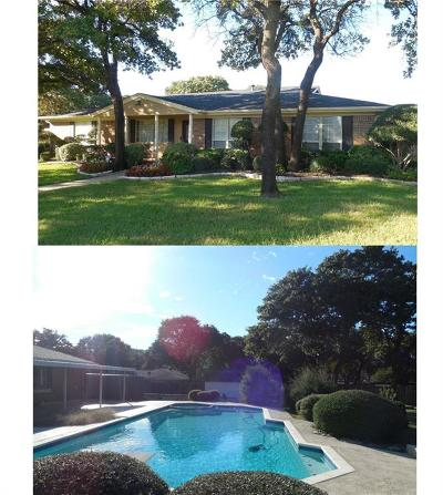 Colleyville Single Family Home Active Option Contract: 504 Colleyville Terrace