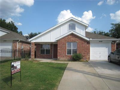 Single Family Home For Sale: 2438 Wycliff Avenue