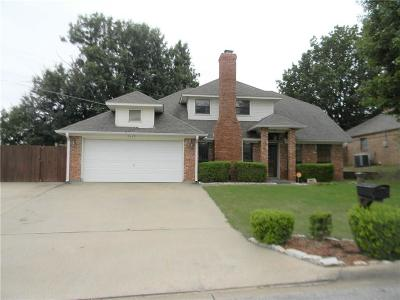 Sherman Single Family Home Active Option Contract: 1814 Glenway Drive