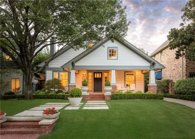 Dallas County Single Family Home For Sale: 3504 Harvard Avenue