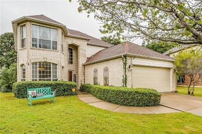 Burleson Single Family Home Active Option Contract: 528 Laurelwood Road