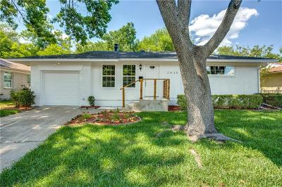 Single Family Home For Sale: 2435 Highwood Drive