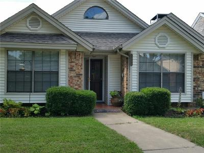Lewisville Single Family Home Active Option Contract: 1454 Javelin Way