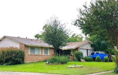 Mesquite Single Family Home For Sale: 1212 Spiceberry Lane