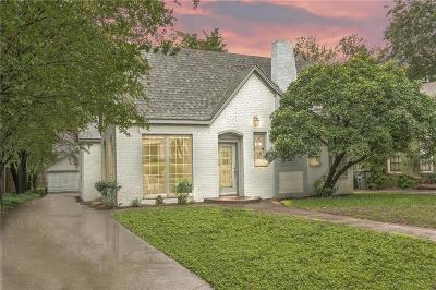 Dallas Single Family Home For Sale: 5628 Richmond Avenue