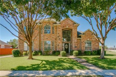 Coppell Single Family Home For Sale: 625 Spring Hill Drive