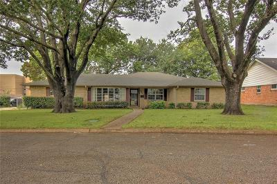 Farmers Branch Single Family Home Active Contingent: 12423 Veronica Circle